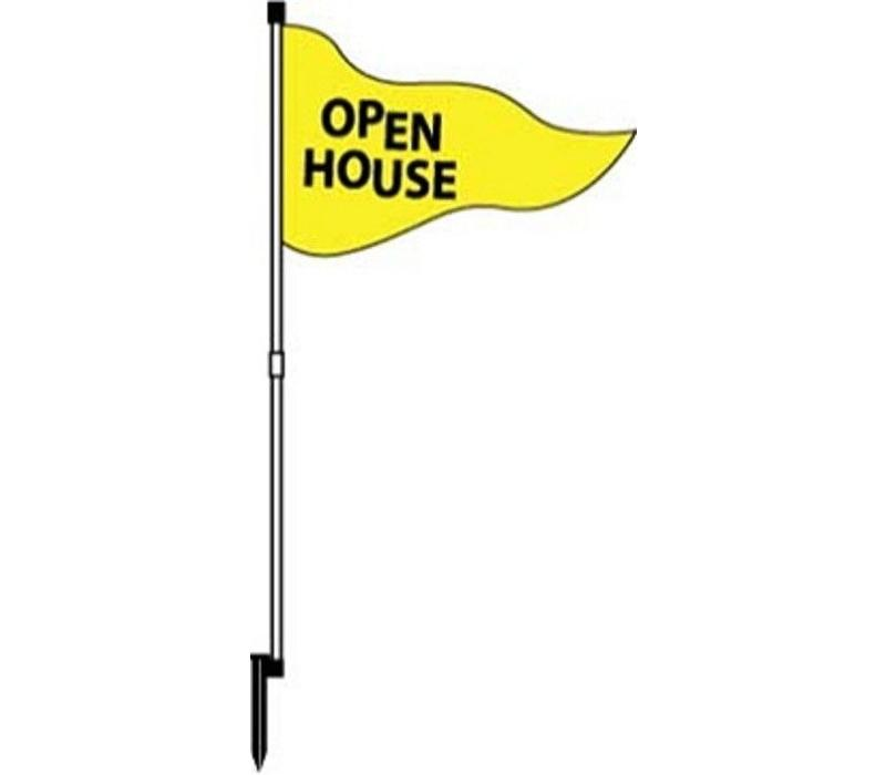 Flag - Open House - Yellow