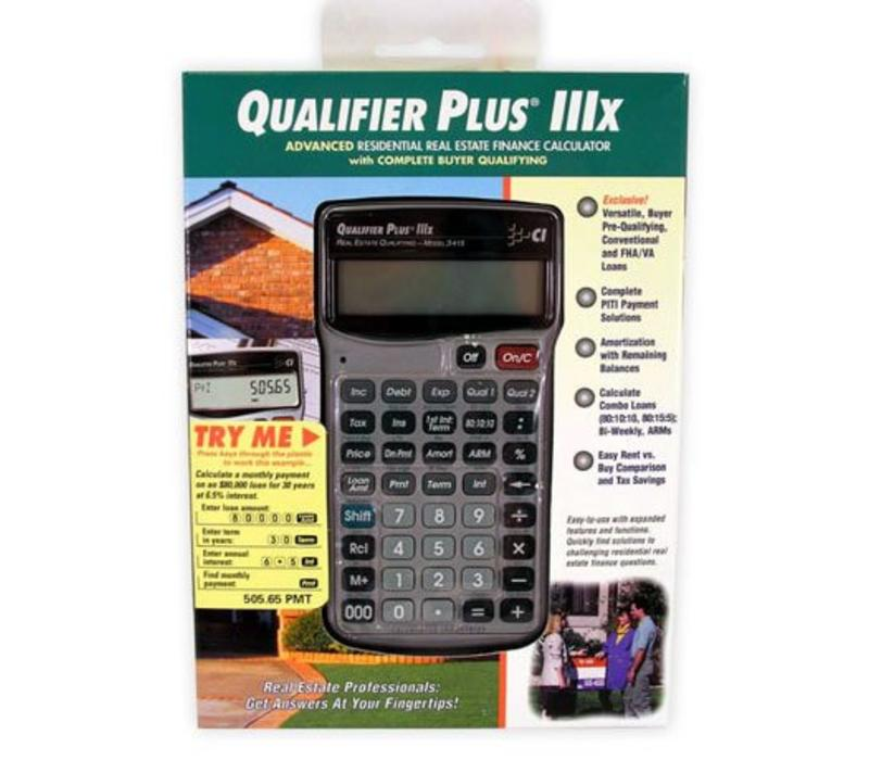 Calculator - Qualifier Plus 3x