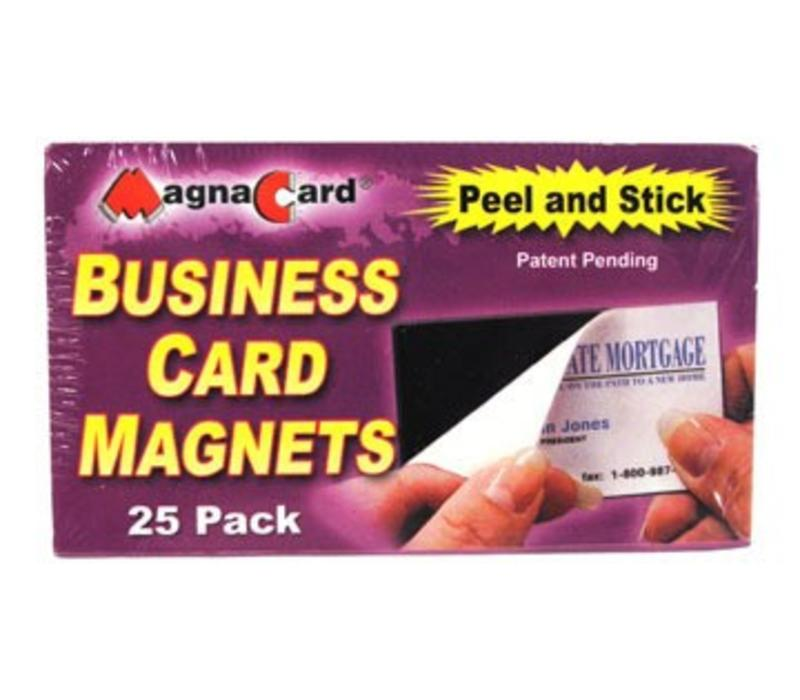 Business Card Magnets - 25
