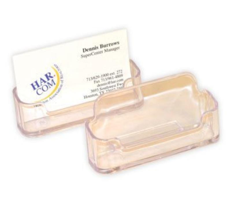 Business Card Holder - Counter - Plastic