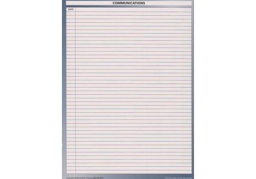 Planner Insert - Communication - Lg