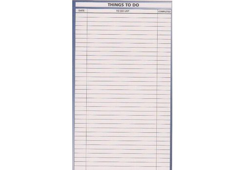 Planner Insert - To Do List - Sm