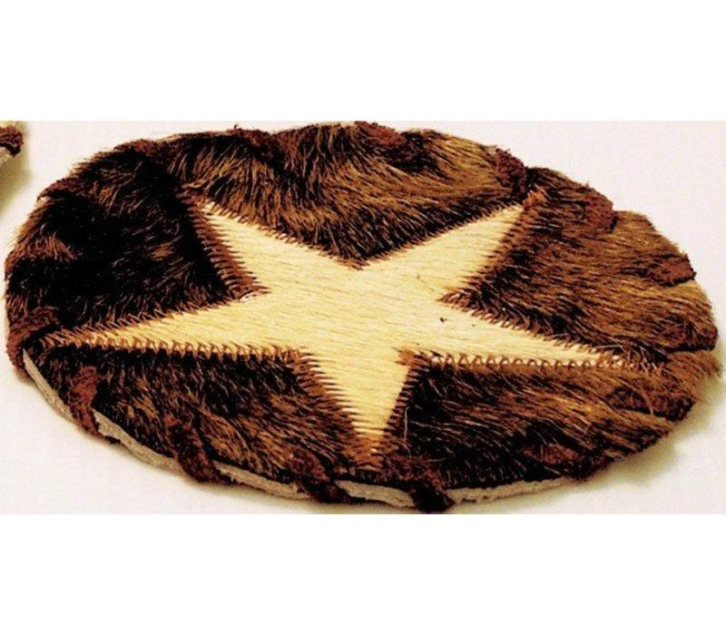 Coaster - Leather - Star