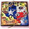 Coasters - Texas Map - Wood