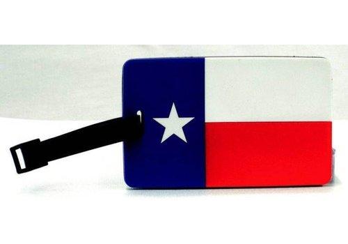 Luggage Tag - Texas Flag