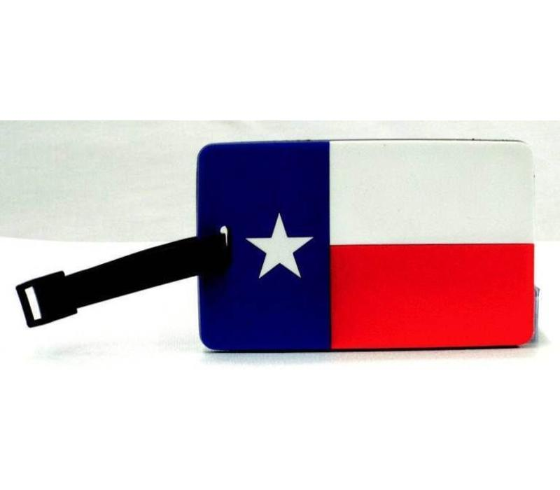 Luggage Tag - Texas Flag