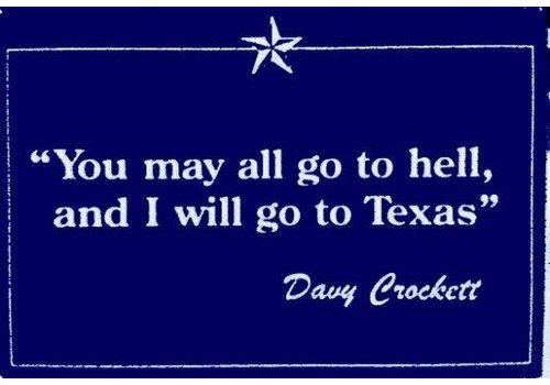 Magnet - Davy Crockett - Navy