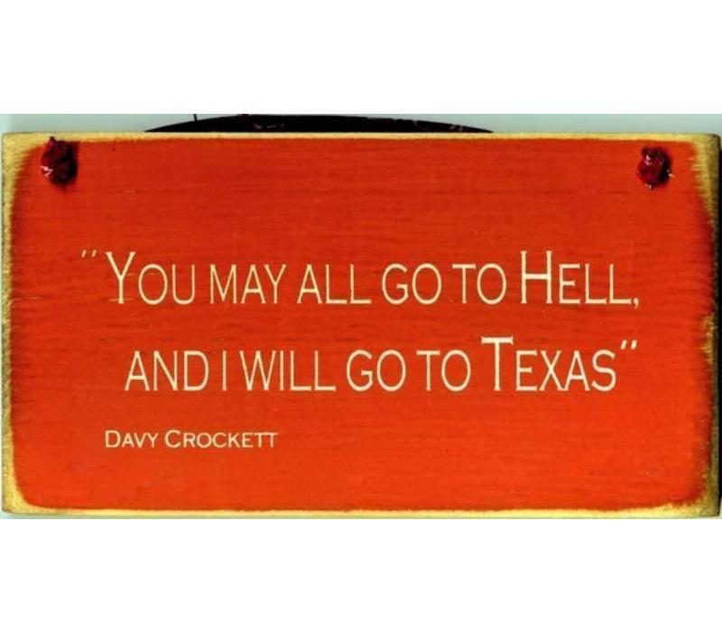 Sign - Davy C - Orange
