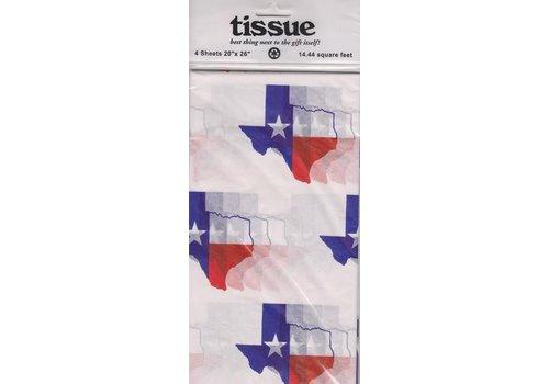Tissue - Texas Flag