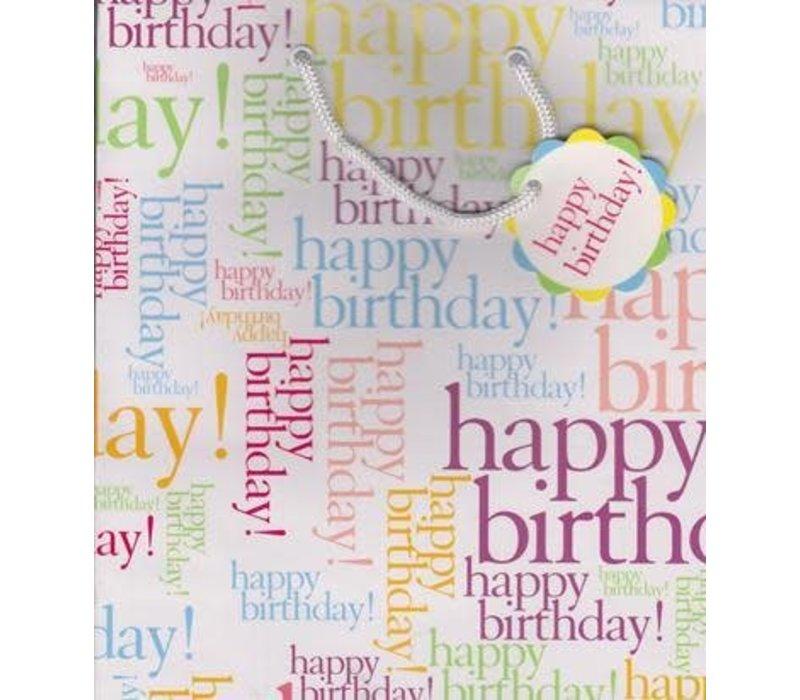 N/A Gift Bag - Happy Birthday