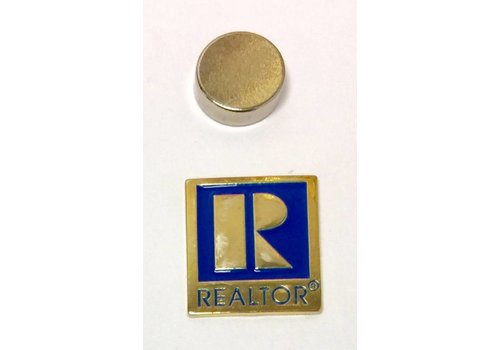 Realtor R Pin - Gold - Sm