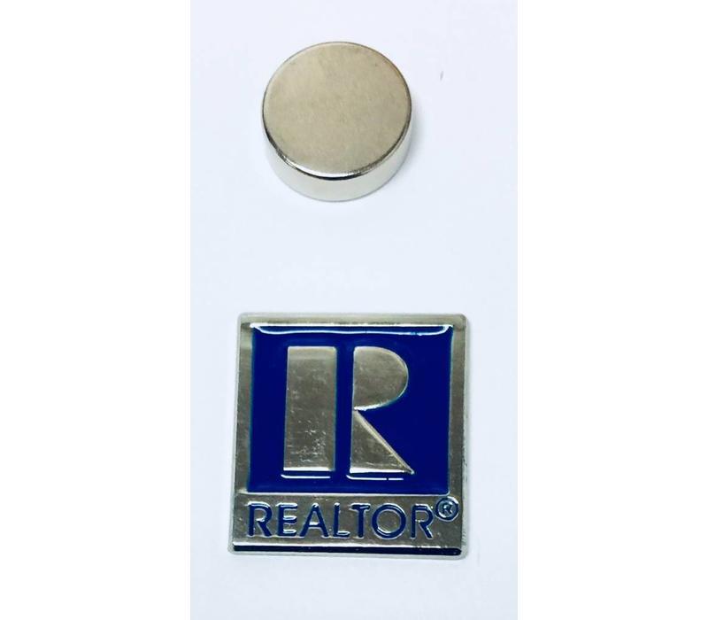 Realtor R Pin - Silver - Sm