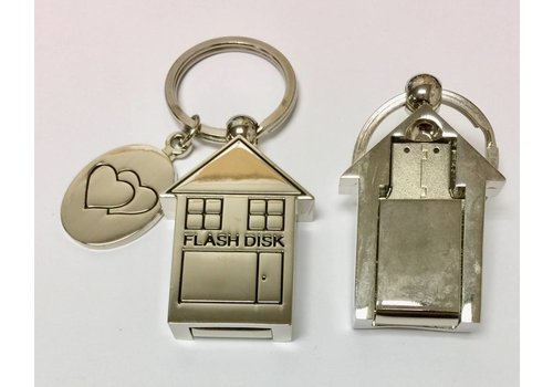 Key Chain - House - USB Drive