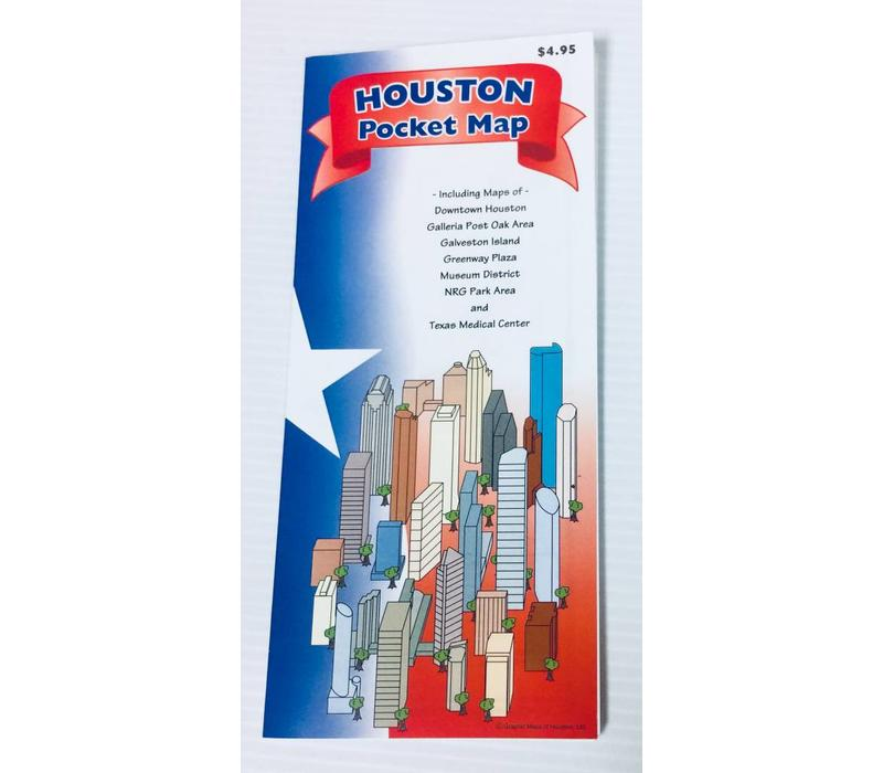 Pocket Map - Houston