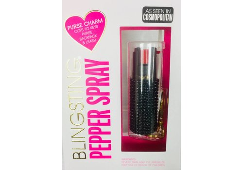 Pepper Spray - Bling - Black