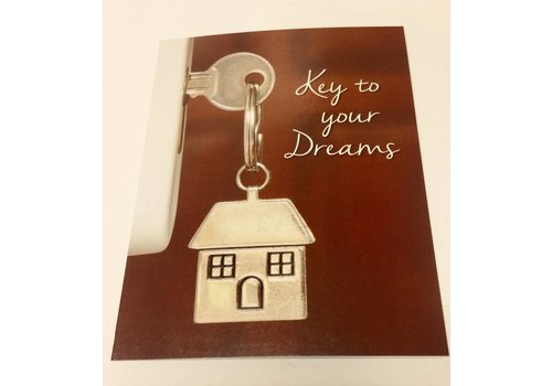 Note Cards - Key To Your Dreams - 25pk