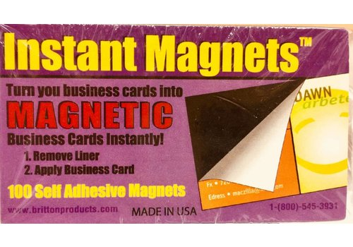 Business Card Magnets - 100