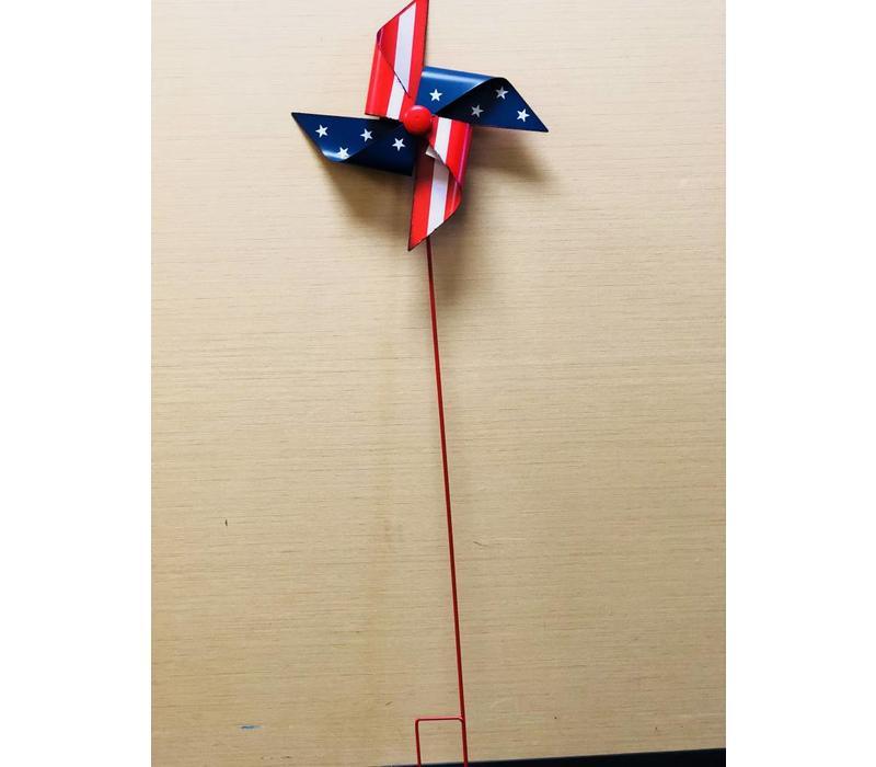 Pinwheel w/Stake - Americana