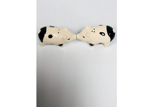 Salt & Pepper Set - Magnetic - Pigs