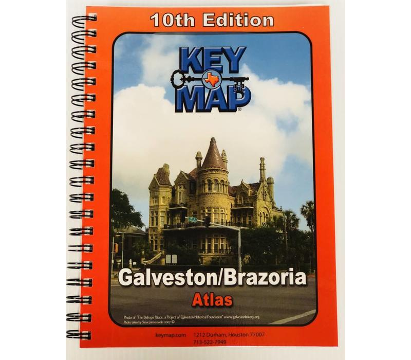 Key Map - Galveston-Brazoria Counties