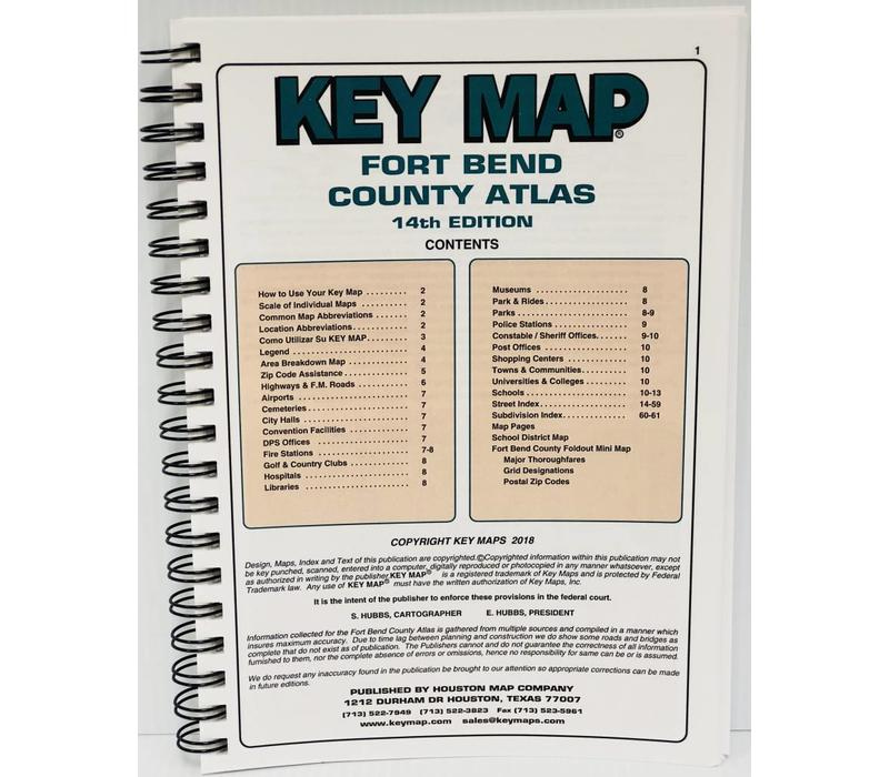 Key Map - Fort Bend County