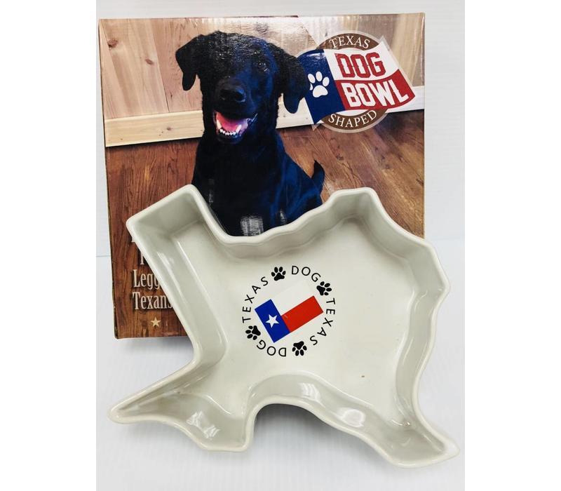 Dog Bowl - Texas Shape