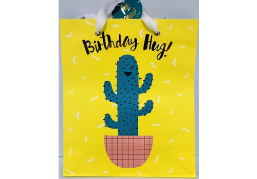 Gift Bag - Medium - Cactus Hug