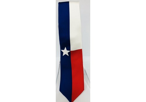 Neck Tie - Texas Flag