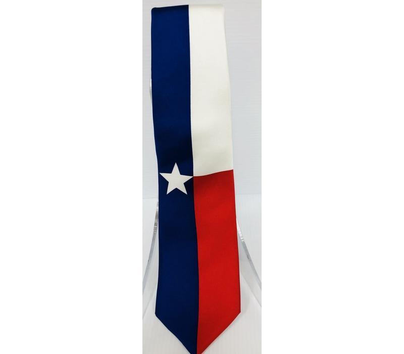 Neck Tie - Texas Flag
