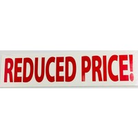 Sign Stickers - Price Reduced - 10 pk