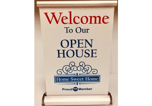 Banner Stand - Our Open House