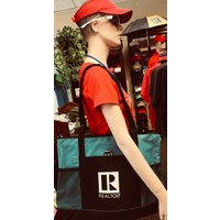 Realtor R Tote - Canvas - Teal