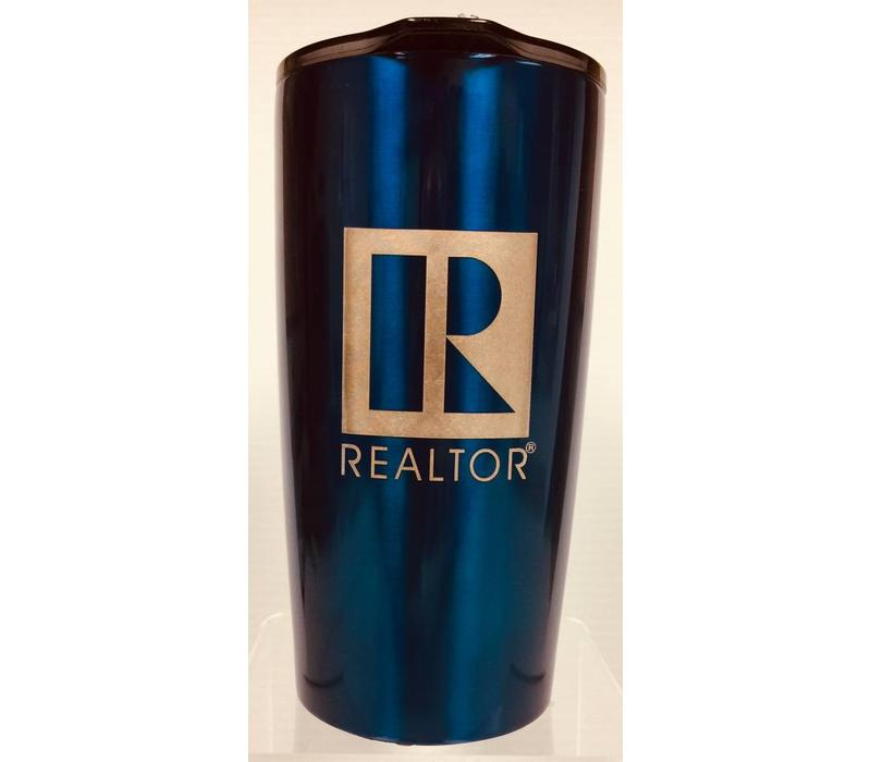 Realtor R Tumbler - Metal - 20 Oz -