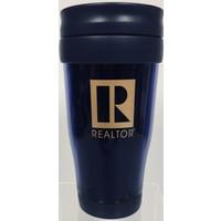 Realtor R Tumbler - Plastic - Blue