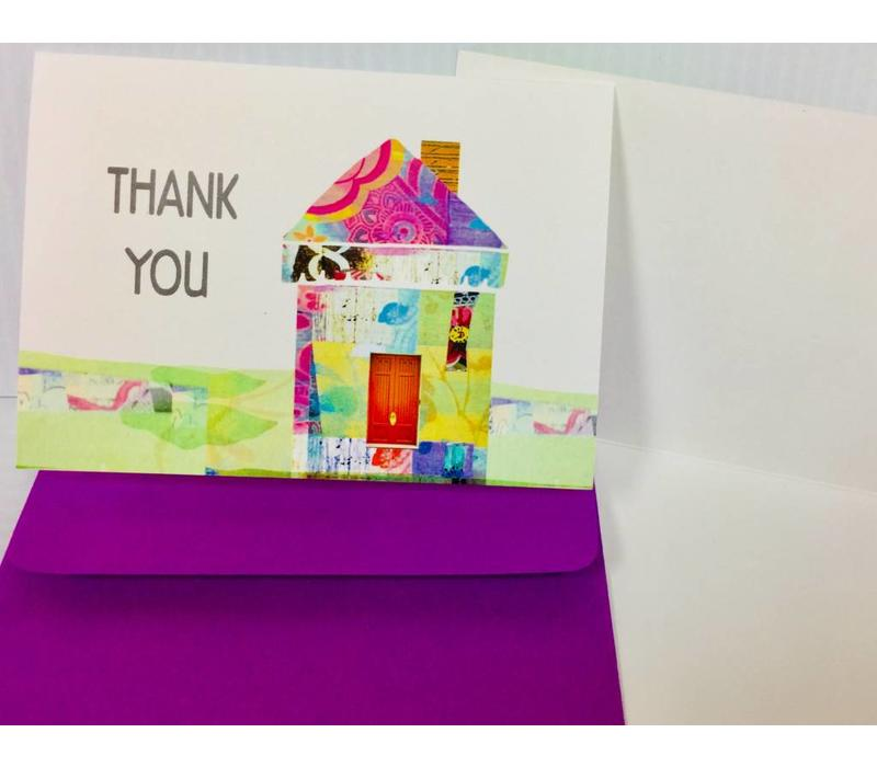 Cards - Thank You - House