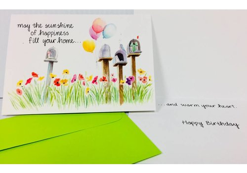Cards - May The Sunshine/Happiness