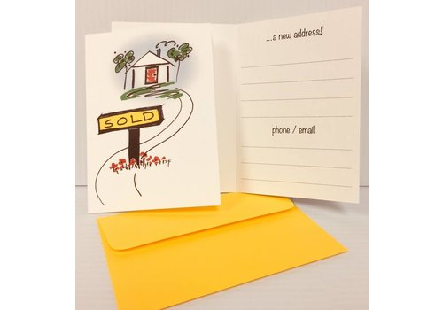 Cards - House - Sold - 10 pk