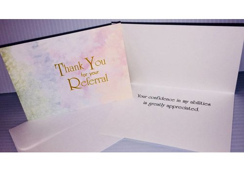 Cards - Thank You - Referral - 10 pk