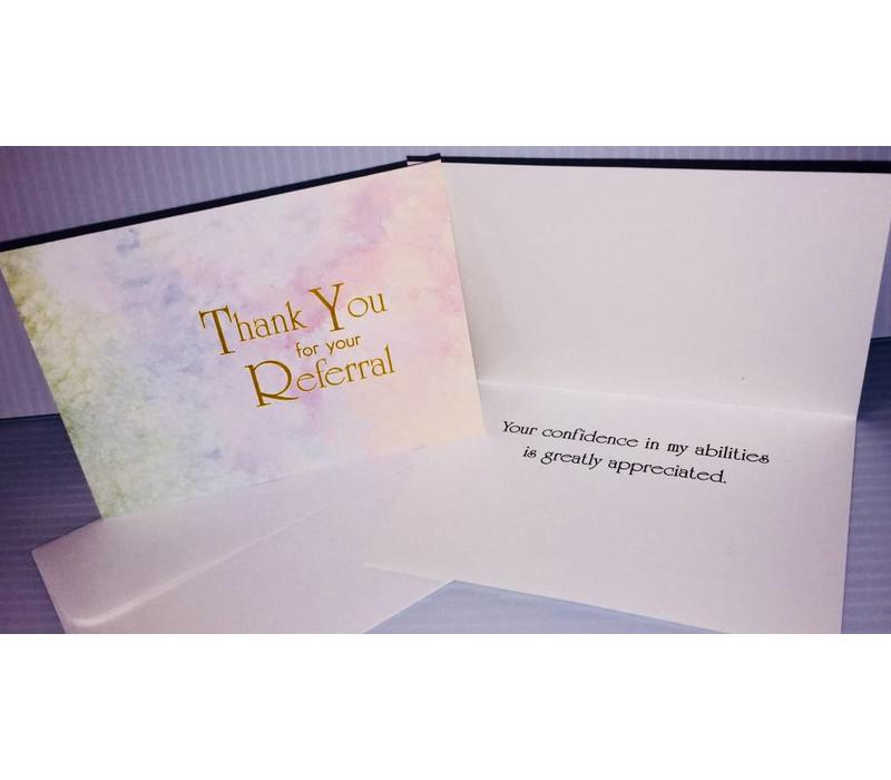 Thank You Cards - Referral - 10 pk