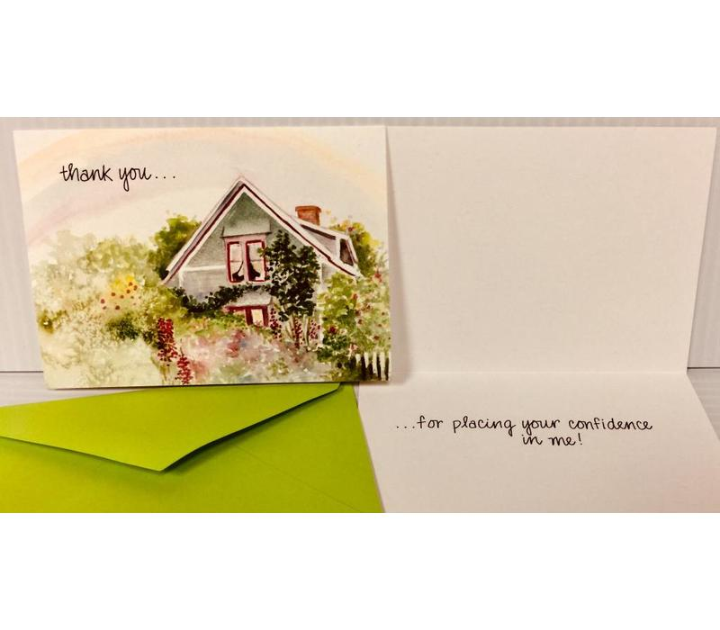 Cards - Thank You - For Your Confidence -10 pk