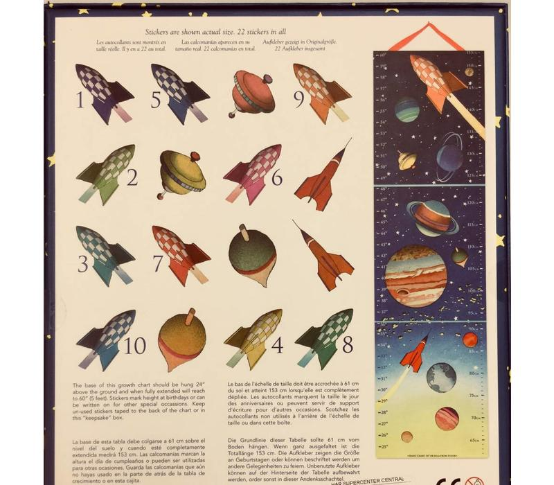 Growth Chart - Outer Space