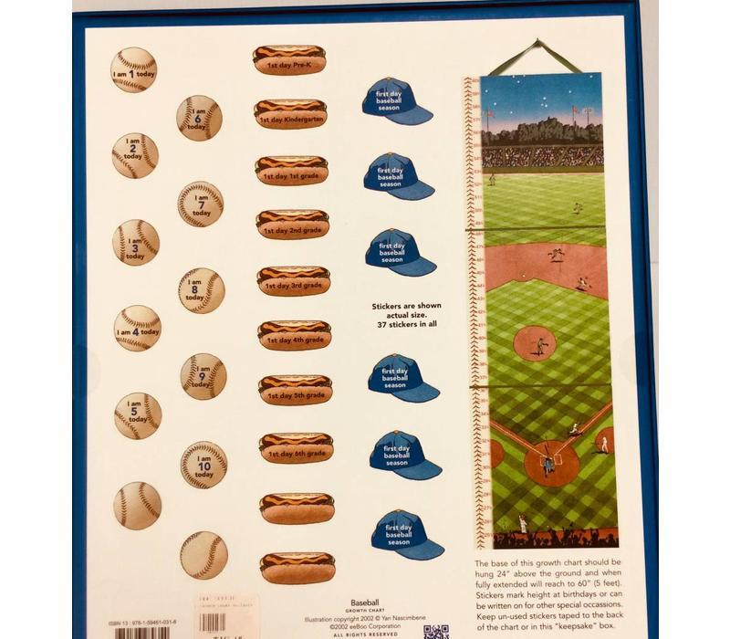 Growth Chart - Baseball