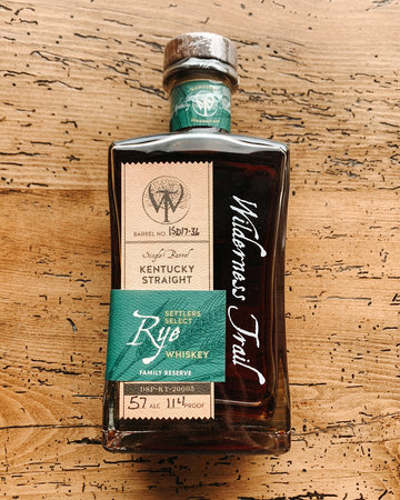 Wilderness Trail Private Select Rye