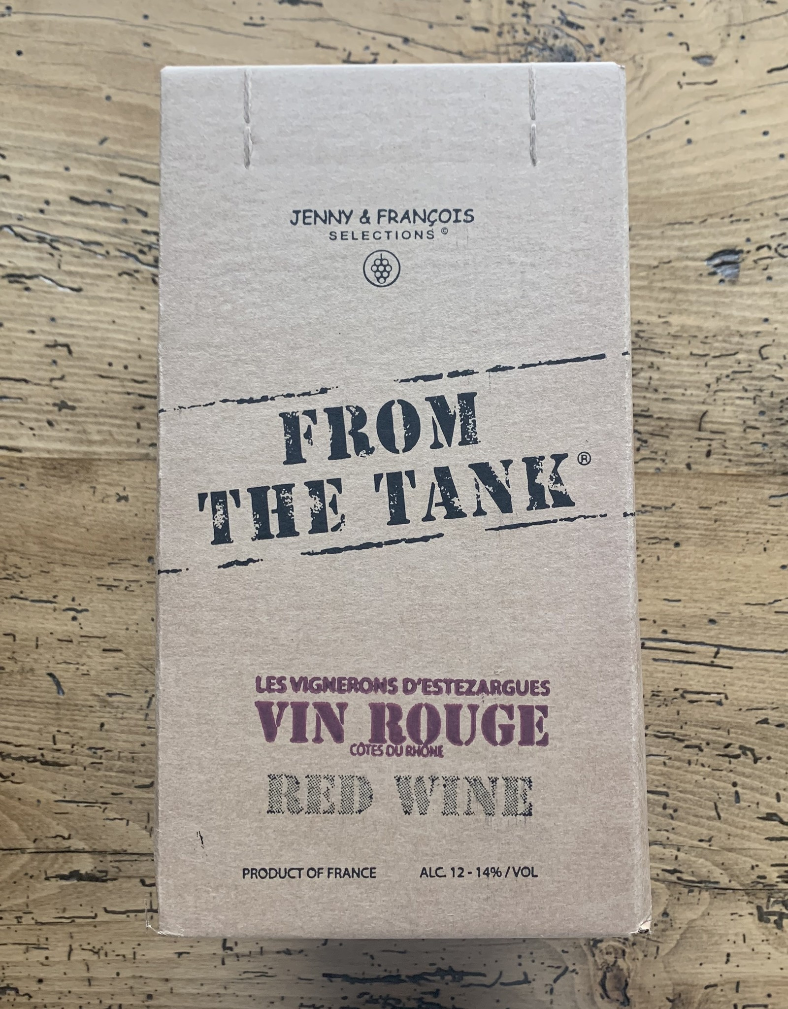 From the Tank Red 3L Box