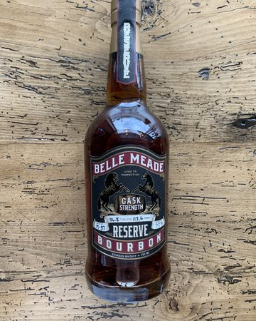 Belle Meade Bourbon Cask Strength Reserve