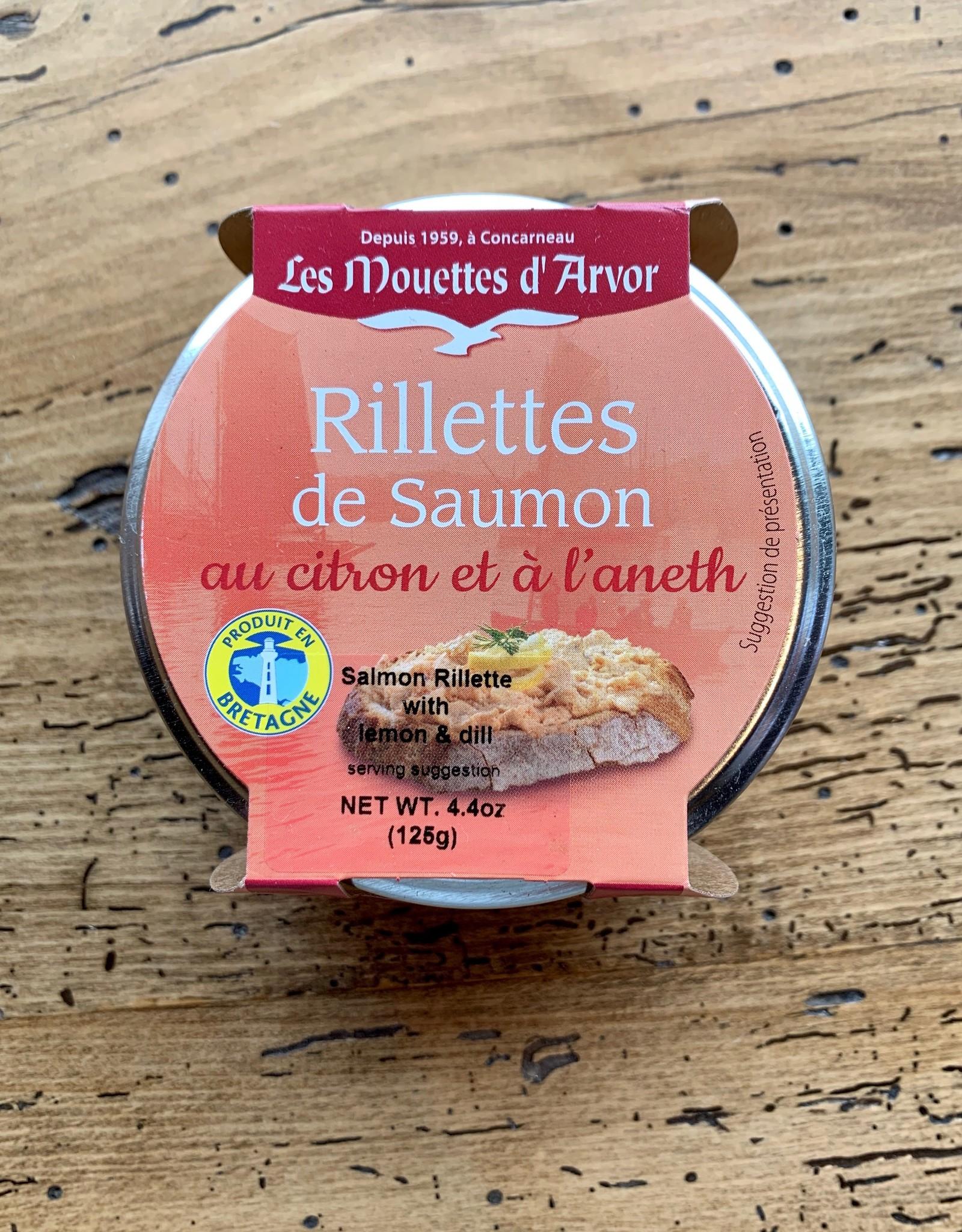Les Mouettes d'Arvor Rillettes de Salmon