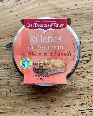 Les Mouettes d'Arvor Rillettes of Salmon with  Lemon & Dill