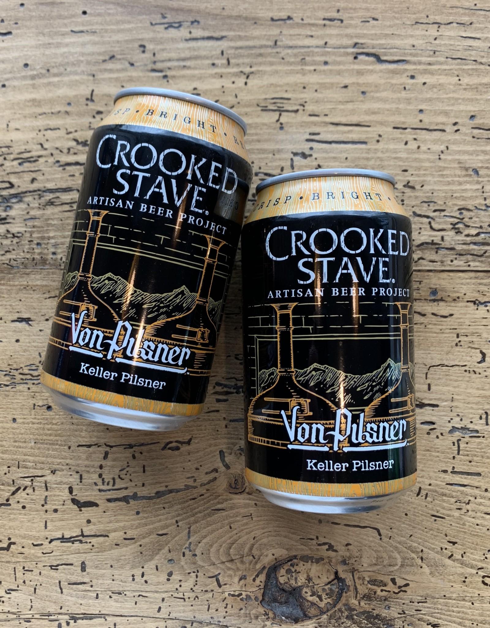 Crooked Stave Von Pilsner 6pk