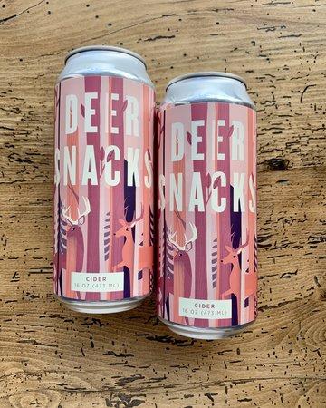 Shacksbury Deer Snacks Cider