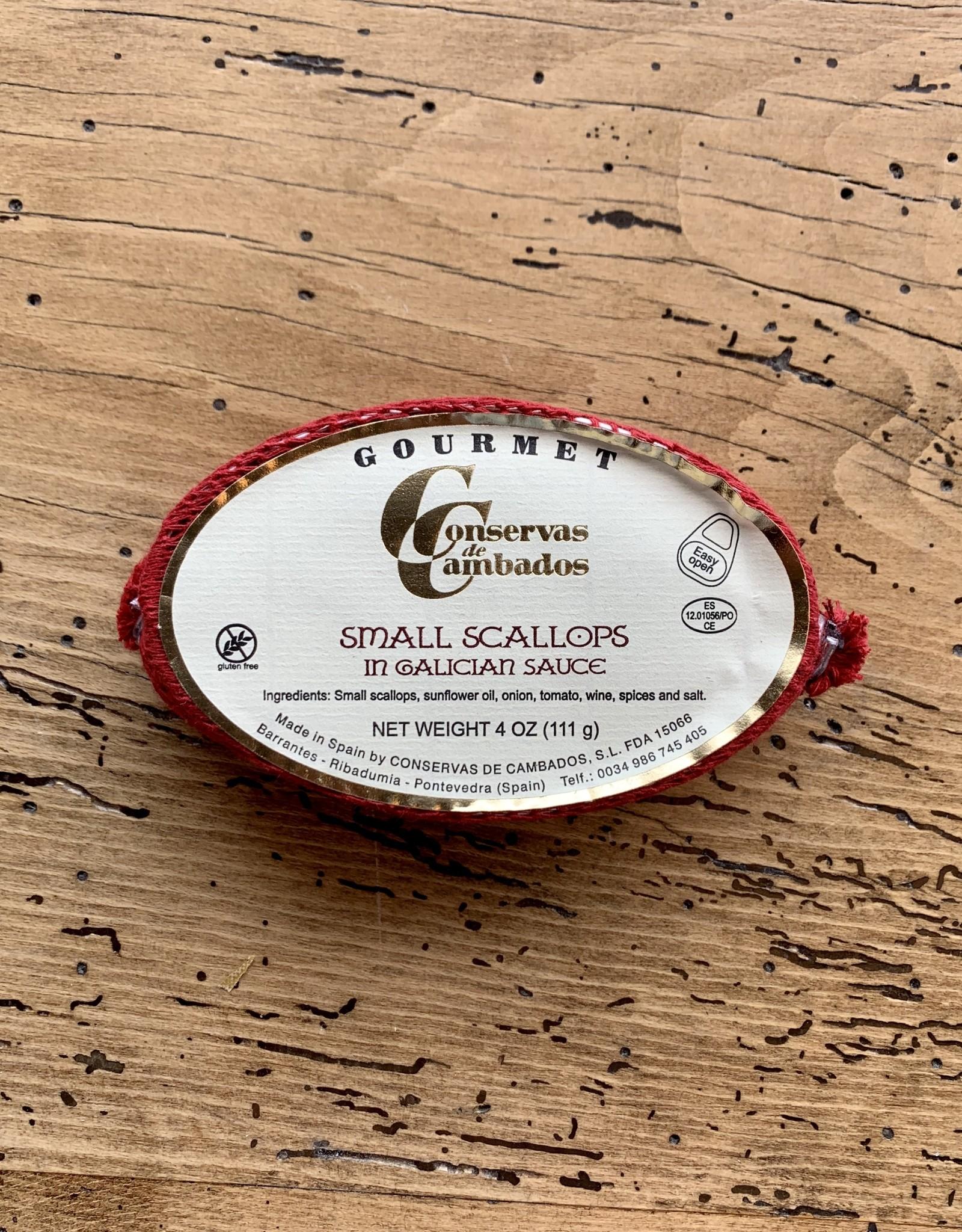 Conservas de Cambados Small Scallops in Galician Sauce